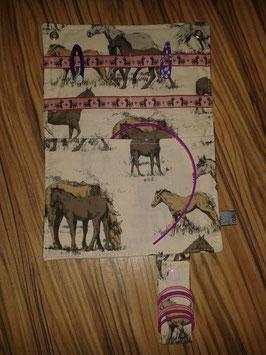 Haarspangen-Utensilo Pferde / Ponys