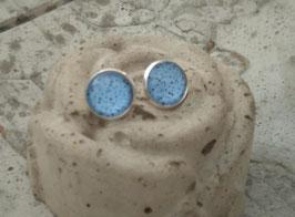 Ohrringe Aqua