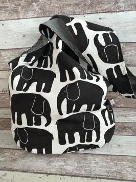 Beuteltasche Elefanten