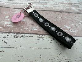 Schlüsselband Stern / schwarz