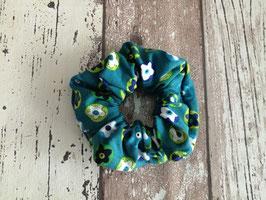 Haargummi / Scrunchie Blumen