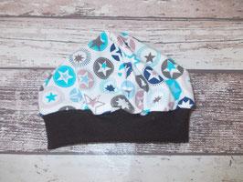 Babymütze Sterne