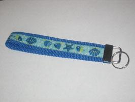 Schlüsselband Fisch / blau