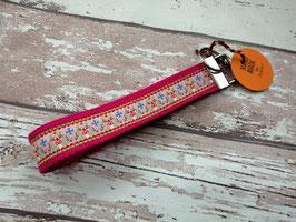 Schlüsselband Pilz / pink