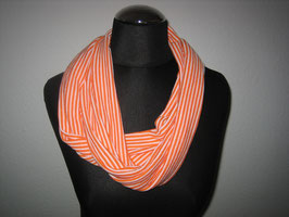 Loop orange gestreift