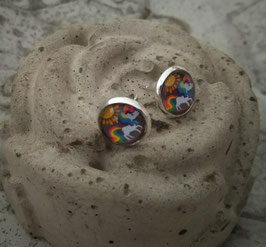 Ohrringe Einhorn
