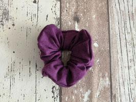Haargummi / Scrunchie lila
