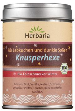 Herbaria Bio Knusperhexe, 60 g Dose