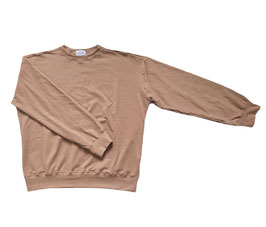 Organic Peanut Oversized Sweatshirt