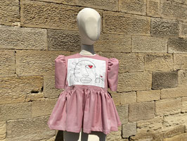 Little Red Pepita Blouse with Love from Sofia