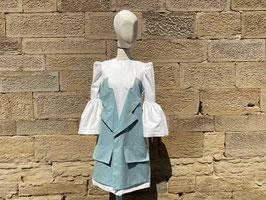 Attached Blazer Dress