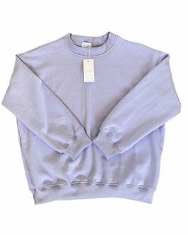 Organic Frosty Lilac Oversized Sweatshirt