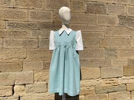 Mini Collared Puff Dress