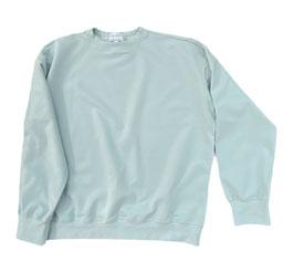 Organic Pastel Mint Oversized Sweatshirt