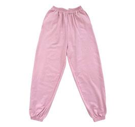Organic Pastel Rose Oversized Sweatpants