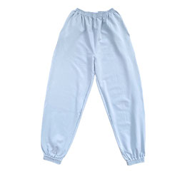 Organic Pastel Blue Oversized Sweatpants