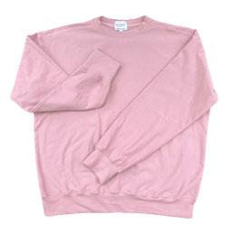 Organic Pastel Rose Oversized Sweatshirt