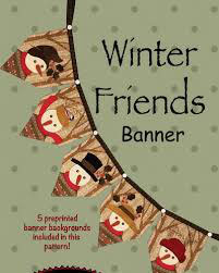 Winter Friends Banner