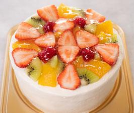 アレルギー対応ケーキ   季節のフルーツショート15cm 【冷蔵便】