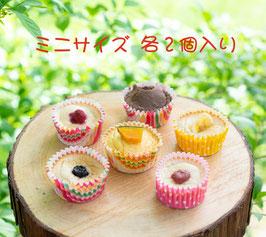 6種類の飛騨高山産米粉のミニカップケーキ(各ミニサイズ2個入り) (冷凍)