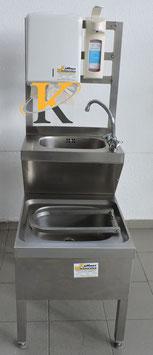 Handwaschbecken mit Ausgußbecken