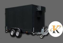 Kühlanhänger/Kühlwagen schwarz