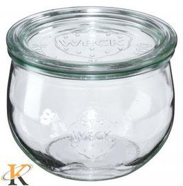Weck Rundrandglas 100