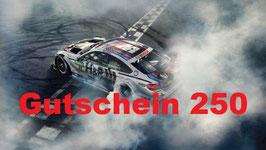 Motorsport Geschenk-Gutschein 250