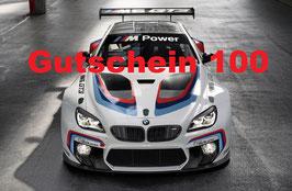 Motorsport Geschenk-Gutschein 100