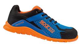 SPARCO Sicherheitsschuh Blue Orange Practice  SP 7517 AZ AF