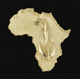 Rhodesian Ridgeback in 333 Gold