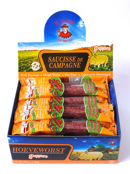 Dry Sausages Pepper
