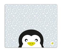 Schreibtischunterlage Pinguin grau 60x50 millimi
