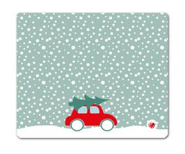 Schreibtischunterlage Weihnachten Auto 60x50 millimi