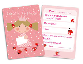 "Invitation ""COME TO MY PARTY"" millimi"
