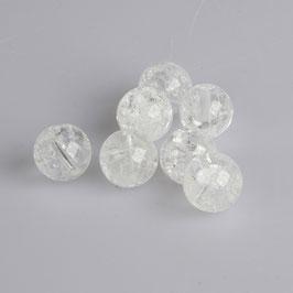 Bergkristall gecrasht/klar facettiert