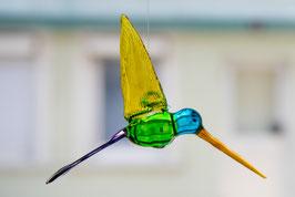 Kolibri aus Glas - mittelgroß, aus Mexiko