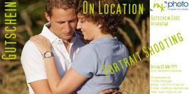 Gutschein On Location Portraitshooting
