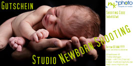 Gutschein Studio Newborn Shooting