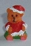 Santa Teddy Bear Ornament