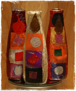 Mini-Dekoflaschen Orient