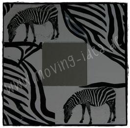Zebra-Look Spiegel