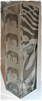"Lang-Vase ""Zebra"""
