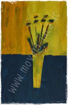 Blume II in Gelb