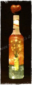 Deko-Flasche