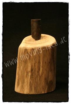 Holz-Kerzenständer für Stabkerze