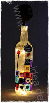 Dekoflasche Orient Weiß