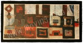 Klappkarte XL mit Malerei Orient 1001 Nacht