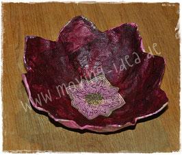 Blütenschale Rosa-Lila