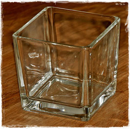 Glas-Windlicht
